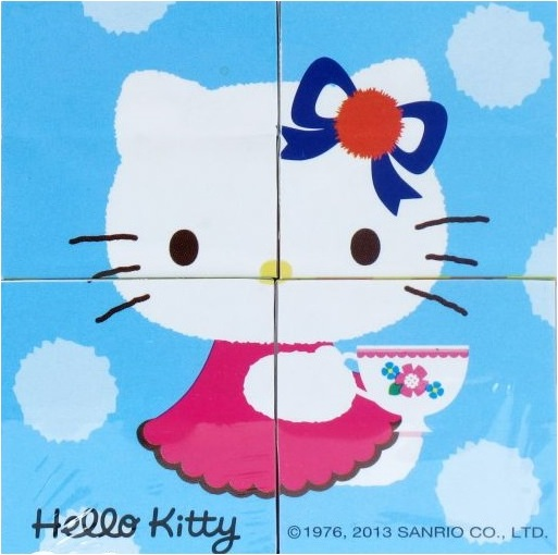 Набор из 4 кубиков «Hello Kitty»Игрушки Hello Kitty<br>Набор из 4 кубиков «Hello Kitty»<br>