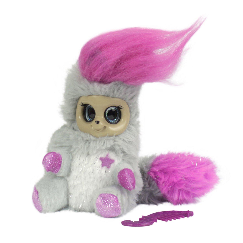Мягкая игрушка из серии Bush baby world Пушастик - Фрейлина Леди Лулу, 14 см, шевелит ушками, вращает глазками