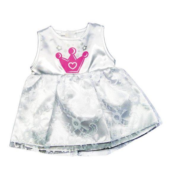 Одежда для куклы размером 38-43 см. – платье с розовой коронойОдежда для кукол<br>Одежда для куклы размером 38-43 см. – платье с розовой короной<br>