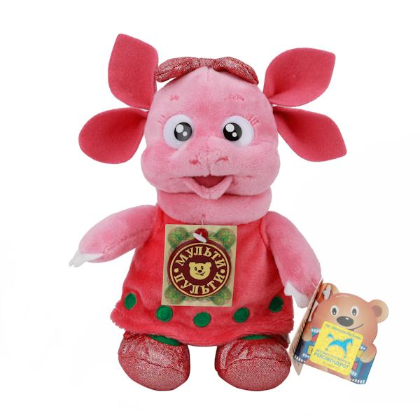 Купить Озвученная мягкая игрушка - Луня подружка Лунтика (Мульти-пульти, V86328/18sim, Мульти-Пульти