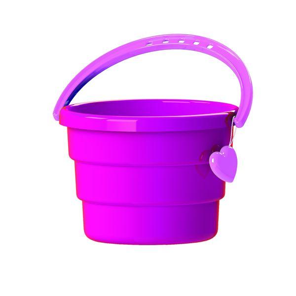 Ведро – Принцесса, розовоеВсе для песочницы<br>Ведро – Принцесса, розовое<br>