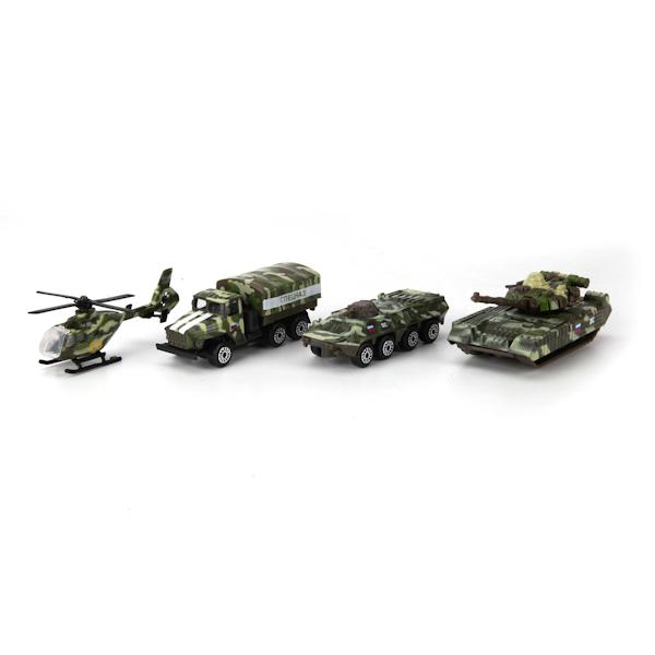 Купить Набор из 2-х металлических моделей - Военная техника, 7, 5 см, Технопарк