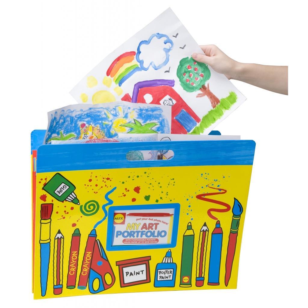 Большая папка для детских рисунков и фотоПапки<br>Большая папка для детских рисунков и фото<br>