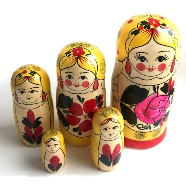 Матрешка традиционная 5 кукольная – Сударушка, 14,5 смМатрешка<br>Матрешка традиционная 5 кукольная – Сударушка, 14,5 см<br>
