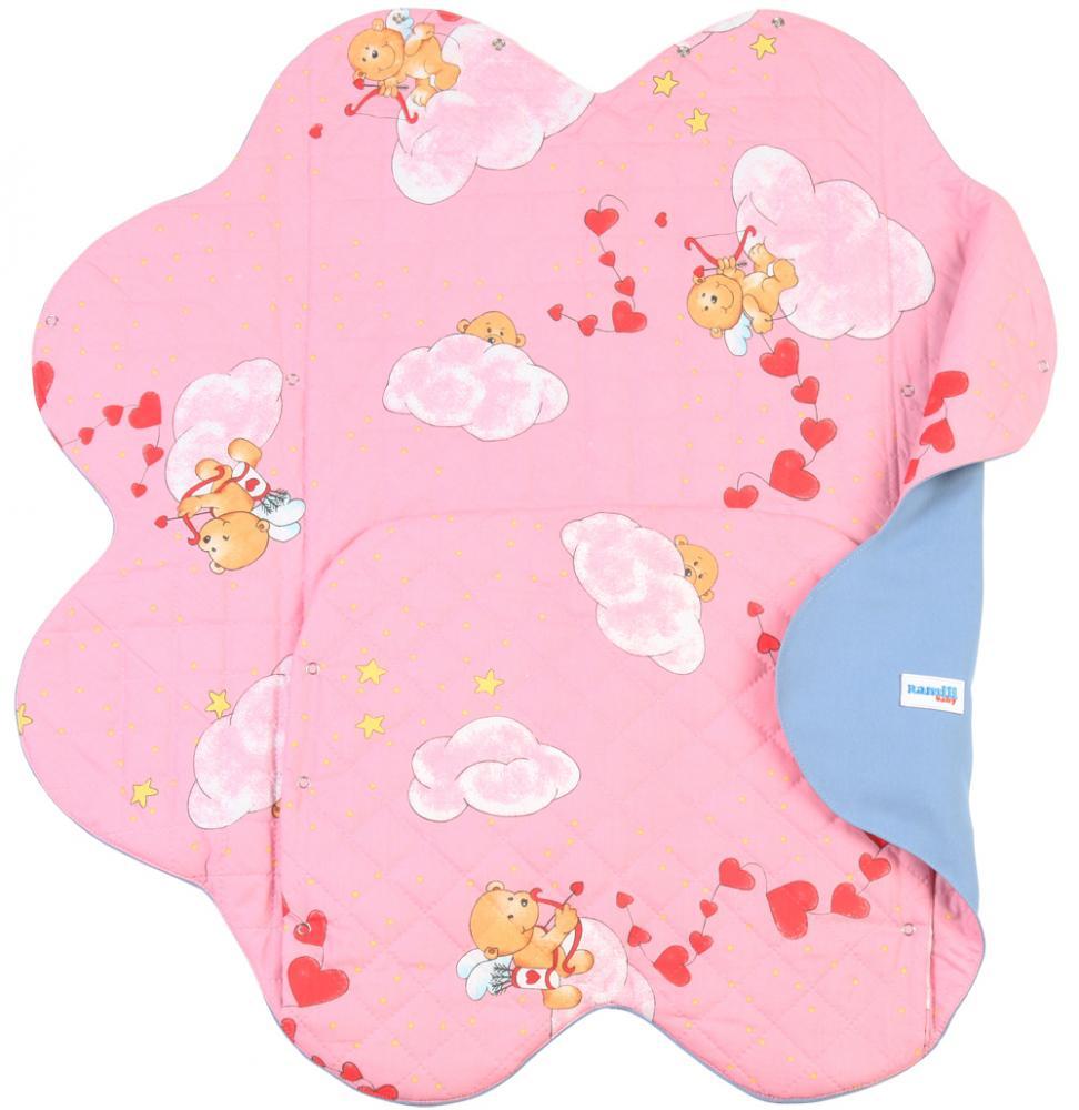 Конверт для новорожденного – Ramili Light Denim Style Pink  - купить со скидкой