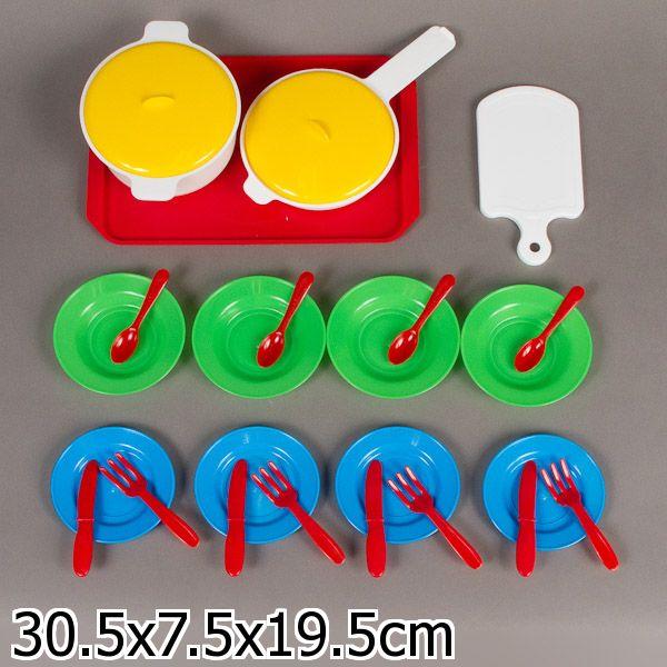 Детский кухонный набор, 26 предметовАксессуары и техника для детской кухни<br>Детский кухонный набор, 26 предметов<br>