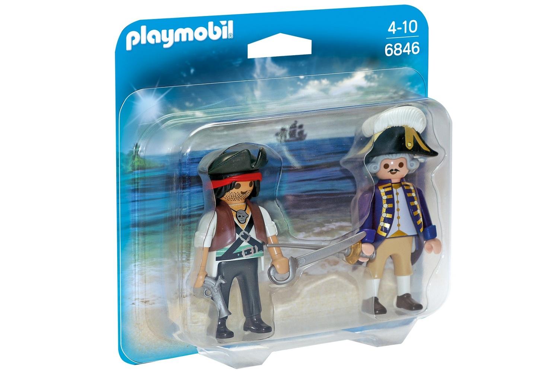 Купить Игровой набор из серии - ДУО: Пират и Солдат, Playmobil