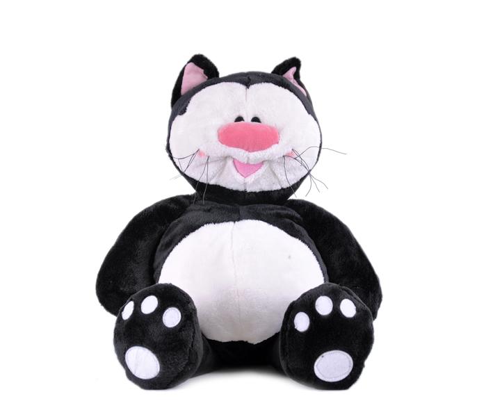 Кот КОТЯ черный сидячий, 71 см - Большие игрушки (от 50 см), артикул: 19446