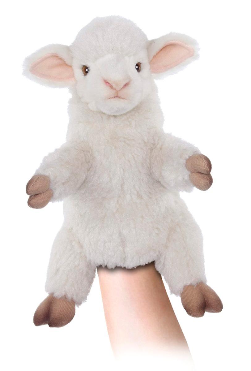Купить Мягкая игрушка на руку – Овечка. 27 см, Hansa