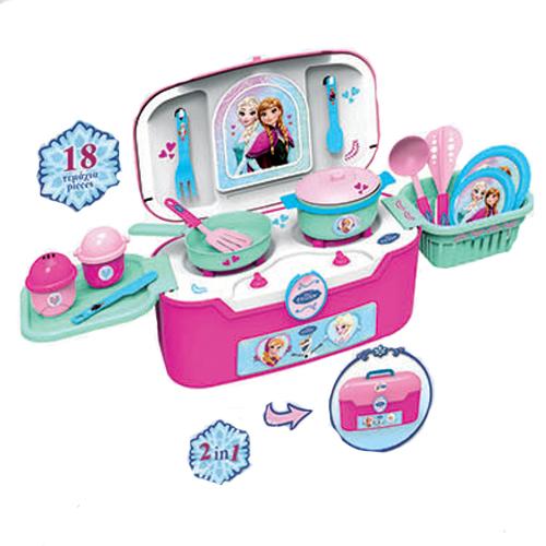 Игровая кухня в чемодане - Холодное сердцеДетские игровые кухни<br>Игровая кухня в чемодане - Холодное сердце<br>