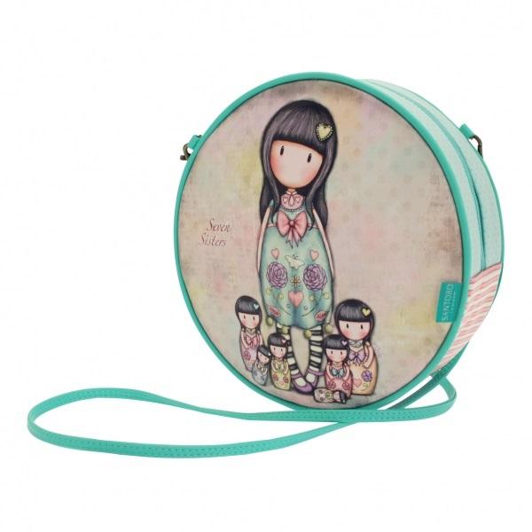 Купить Круглая сумка - Seven Sisters из серии Gorjuss, Santoro London