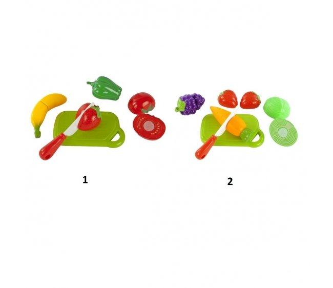 Купить Набор для резки - Овощи и фрукты, 4 штуки, Mary Poppins
