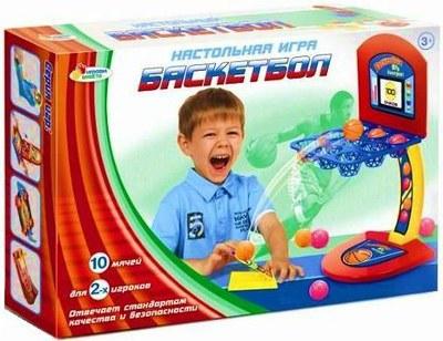 Детская настольная игра «Баскетбол»Баскетбол, бадминтон, теннис<br>Детская настольная игра «Баскетбол»<br>
