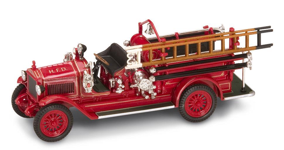 Модель пожарного автомобиля Мэксим C1, образца 1923, масштаб 1/43
