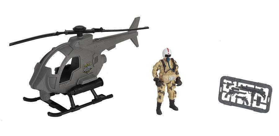 Купить Игровой набор - Пилот на вертолете, Chap Mei