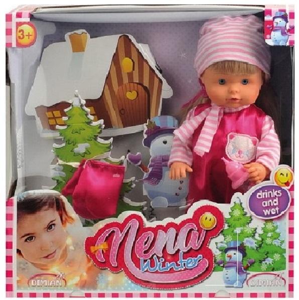 Кукла Bambolina Boutique - Baby Nena зимний набор, 36 смПупсы<br>Кукла Bambolina Boutique - Baby Nena зимний набор, 36 см<br>