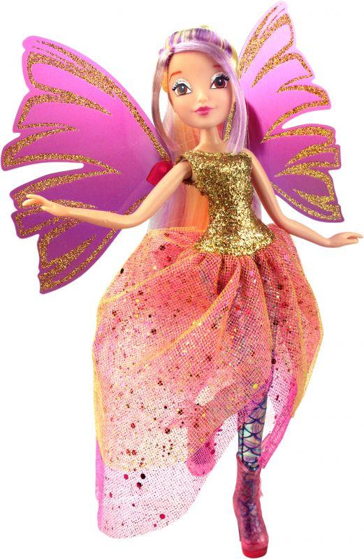 Кукла Стелла из серии Winx Club Чудесная СирениксКуклы Винкс (Winx)<br>Кукла Стелла из серии Winx Club Чудесная Сиреникс<br>