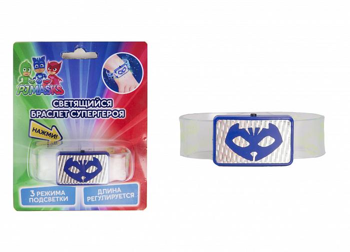 Светящийся браслет супергероя PJ Mask™ - Кэтбой