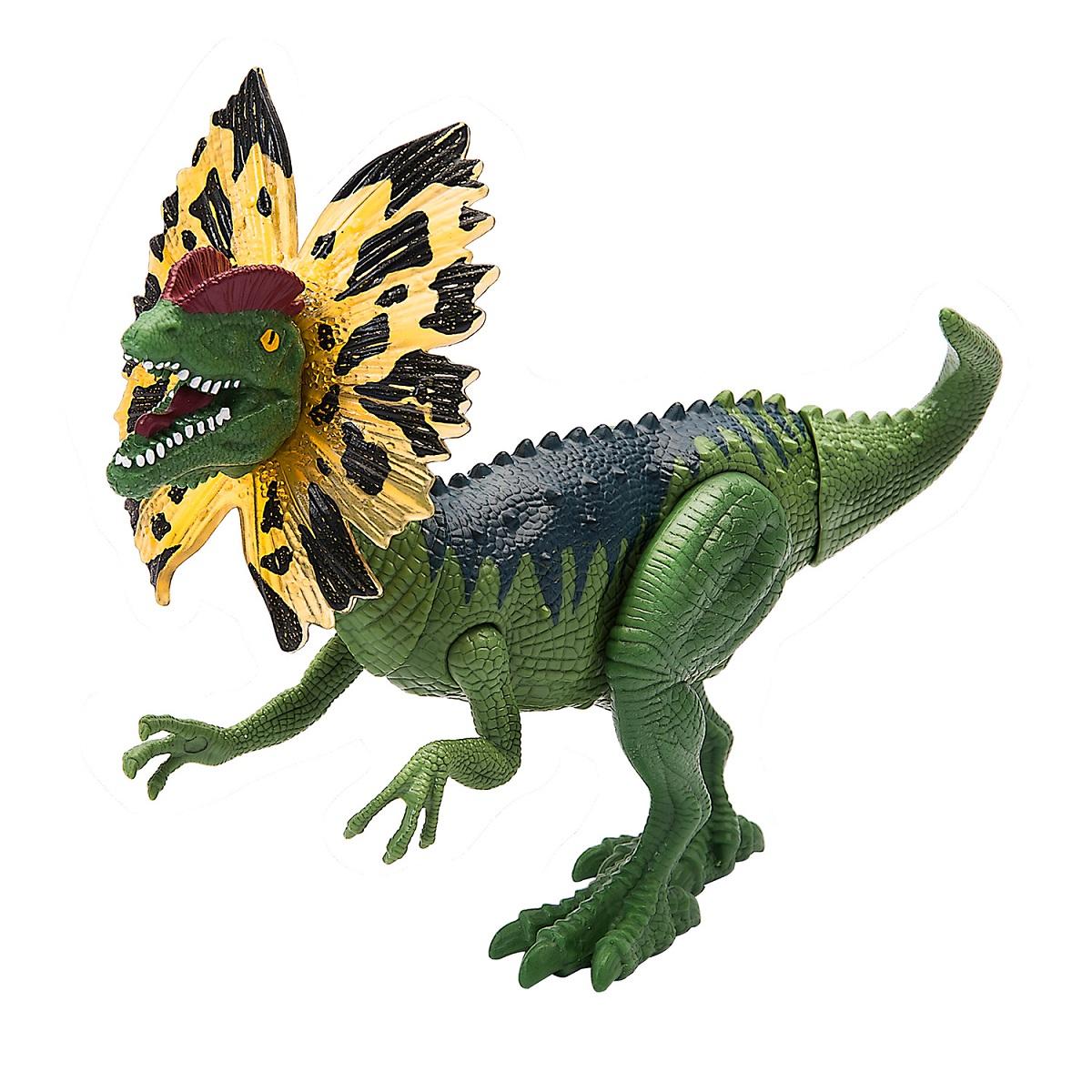 Подвижная фигура  - Дилофозавр, свет, звук