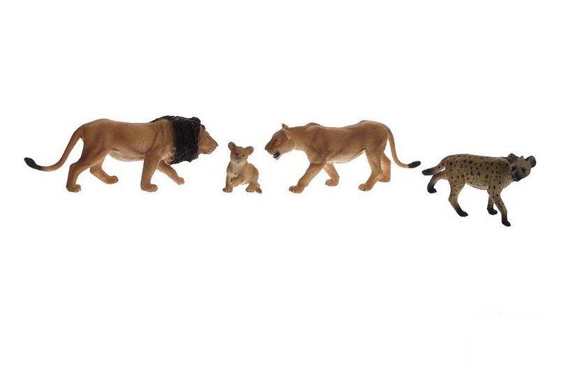 Набор Animal Planet – Хищники, 4 штукиДикая природа (Wildlife)<br>Набор Animal Planet – Хищники, 4 штуки<br>