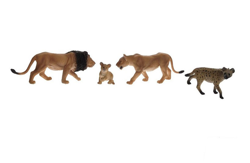 Набор Animal Planet – Хищники, 4 штуки - Фигурки животных, артикул: 162530