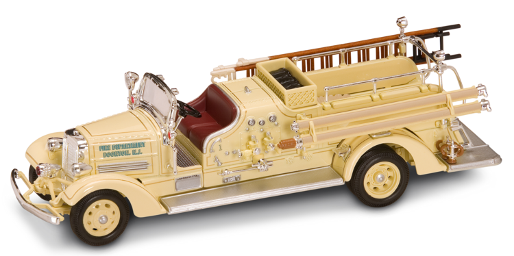 Купить Модель пожарного автомобиля Аренс Фокс VC, образца 1938 года, масштаб 1/43, Yat Ming