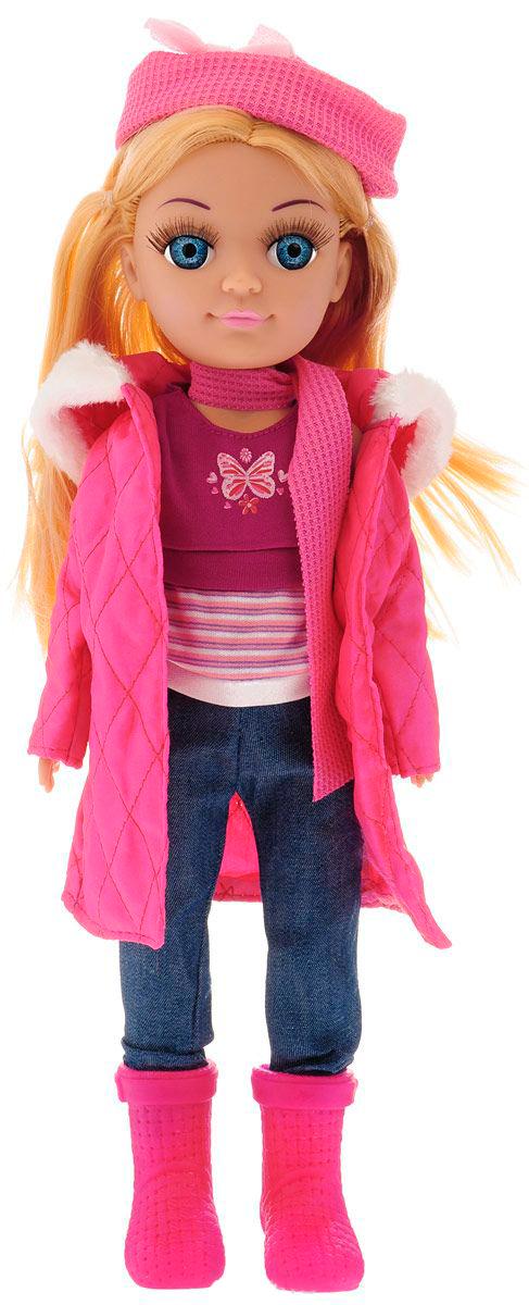 Кукла Полина, говорит 100 фраз, поет песенку, 38 смКуклы Карапуз<br>Кукла Полина, говорит 100 фраз, поет песенку, 38 см<br>