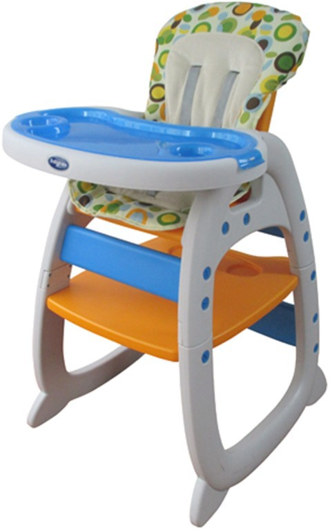 Детский стульчик для кормления Baby Care – O-ZONE, оранжевыйСтульчики для кормления<br>Детский стульчик для кормления Baby Care – O-ZONE, оранжевый<br>
