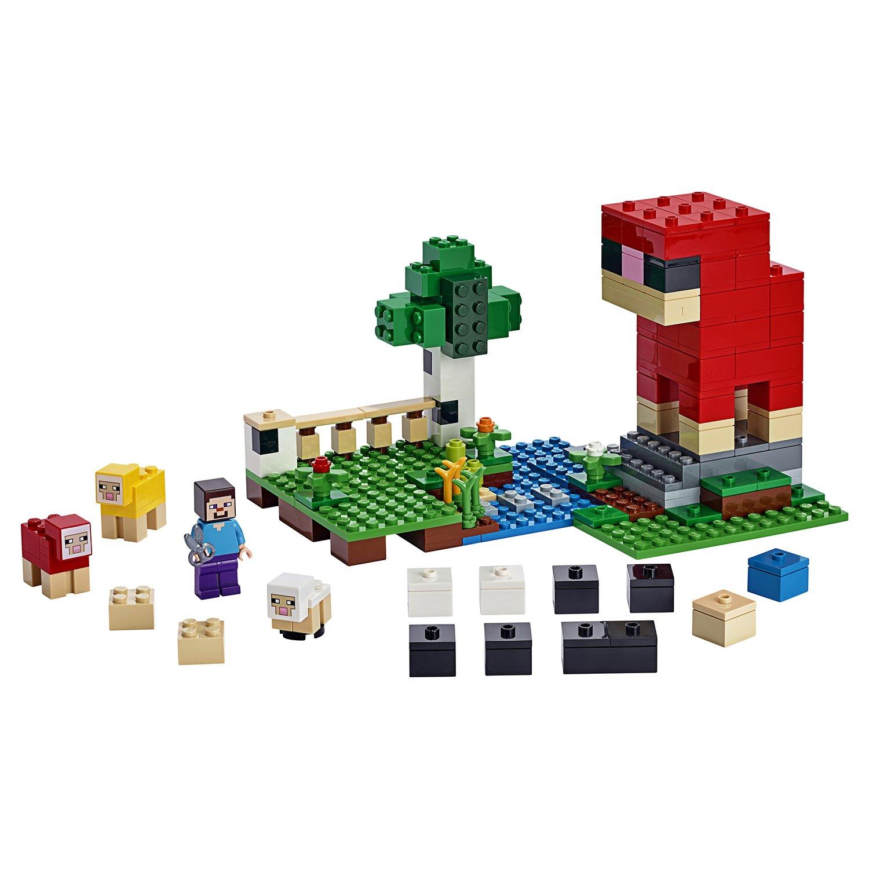 Конструктор Lego®  Minecraft - Шерстяная ферма по цене 1 375