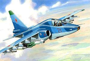 Сборная модель -Истребитель танков Су – 39Модели самолетов для склеивания<br><br>