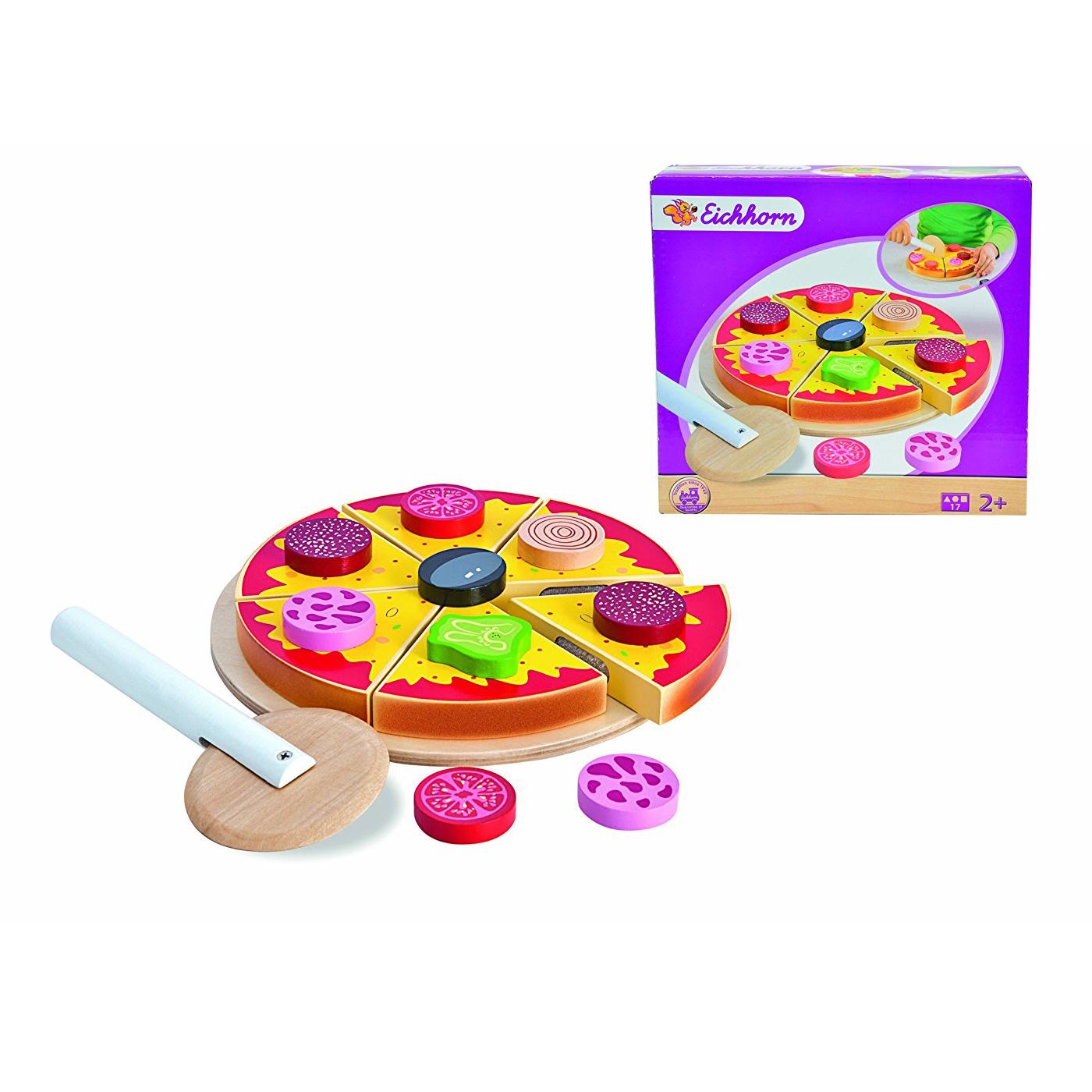 Игровой набор - Пицца, 17 предметовАксессуары и техника для детской кухни<br>Игровой набор - Пицца, 17 предметов<br>