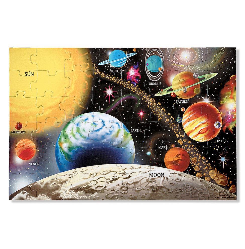 Напольный пазл - Солнечная система, 48 элементов Melissa&Doug