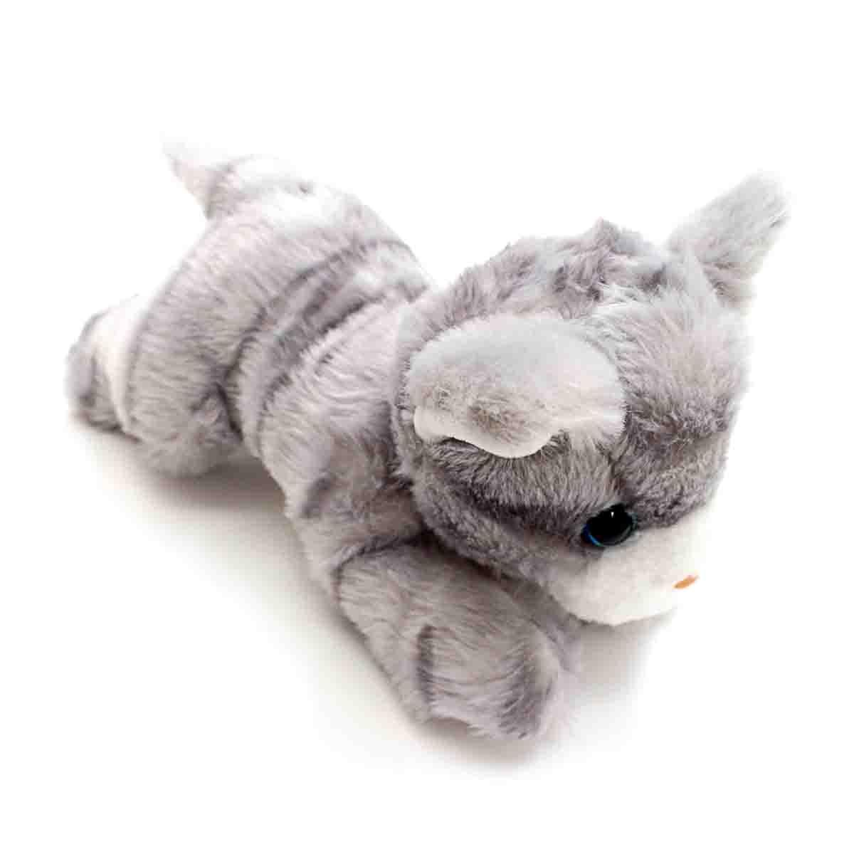 Мягкая игрушка – Котенок серенький, 23 см