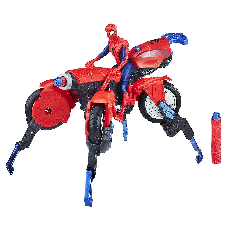 Купить Фигурка из серии Spider-Man Человек-Паук и транспорт, Hasbro