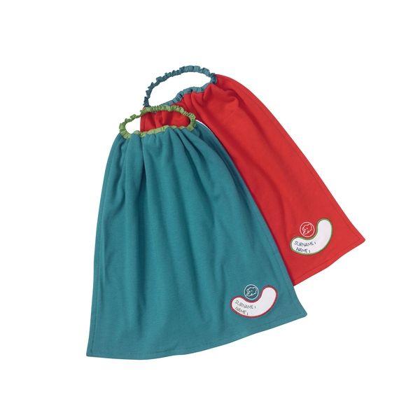 Фартук для детей от 1 до 3 лет, 2 шт.: красный и синийНагрудники<br>Фартук для детей от 1 до 3 лет, 2 шт.: красный и синий<br>