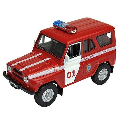 Модель машины УАЗ 31514 «Пожарная Охрана»УАЗ<br>Модель машины УАЗ 31514 «Пожарная Охрана»<br>