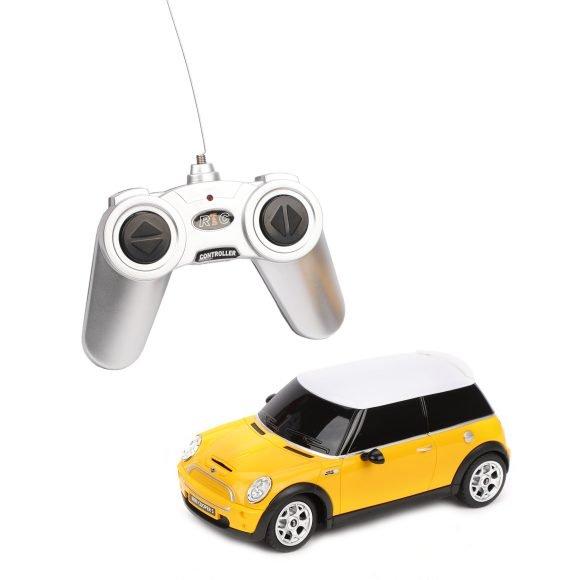картинка Машина на р/у - Mini, 1:24, желтый, свет от магазина Bebikam.ru