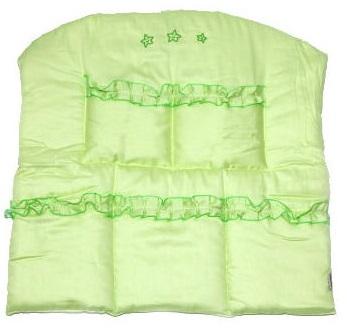 Карман на кроватку - Три медведя, зеленыйДекор и хранение<br>Карман на кроватку - Три медведя, зеленый<br>