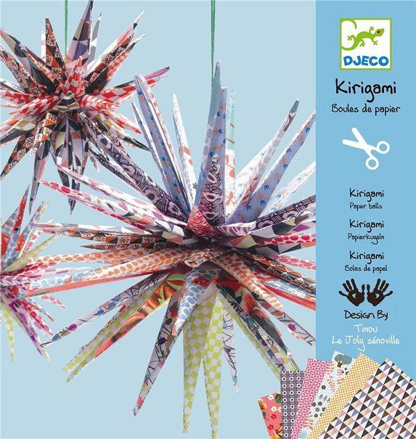 Купить Набор для творчества из серии Киригами – Шар, Djeco