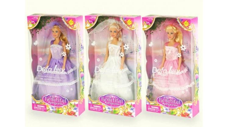 Купить Кукла Defa - Принцесса с аксессуарами, 32, 5 см, 3 вида, Defa Lucy