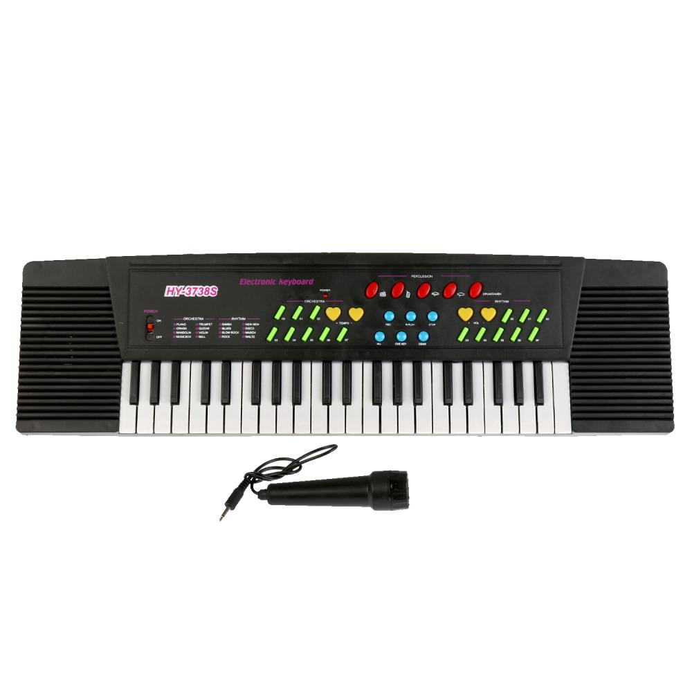 Купить Синтезатор 220v с микрофоном 3738S
