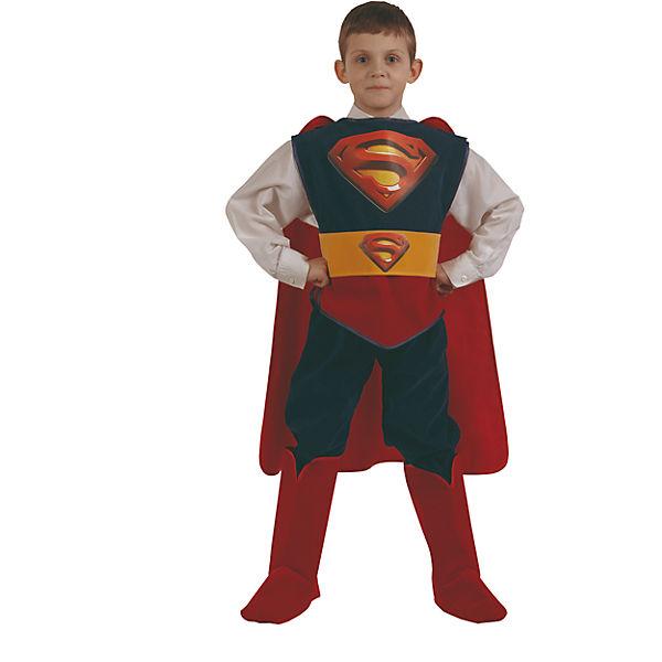 Купить Костюм карнавальный - Супермен из серии Звездный маскарад, размер 30, Батик