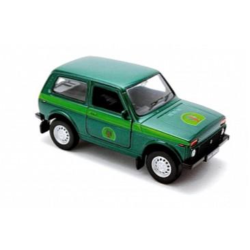 Модель машины Lada 4x4 ЛесоохранаНива<br>Модель машины Lada 4x4 Лесоохрана<br>