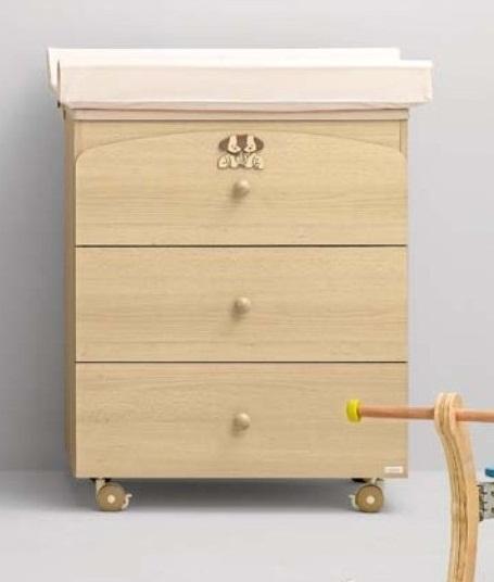 Пеленальный столик А.166 Dado, беленныйДекор и хранение<br>Пеленальный столик А.166 Dado, беленный<br>