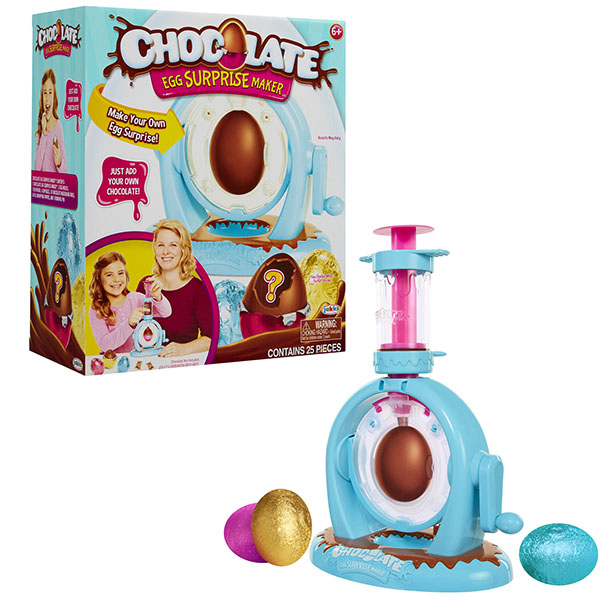 Фабрика по изготовлению шоколадных яиц с сюрпризом - Chocolate Egg SurpriseАксессуары и техника для детской кухни<br>Фабрика по изготовлению шоколадных яиц с сюрпризом - Chocolate Egg Surprise<br>