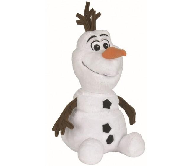 Мягкая игрушка – Олаф, 25 см.Мягкие игрушки Disney<br>Мягкая игрушка – Олаф, 25 см.<br>