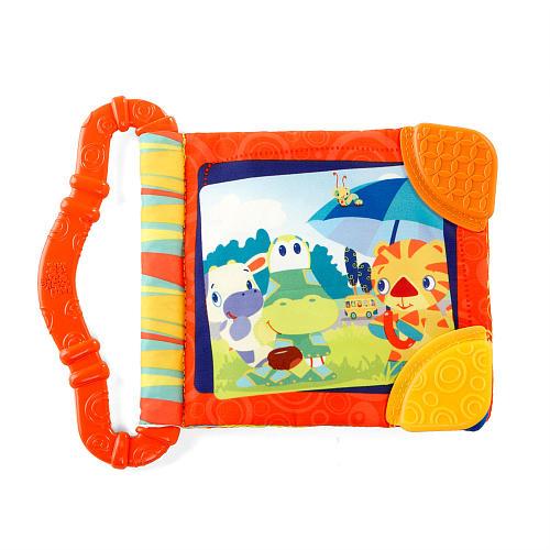 Развивающая книжка с прорезывателем «Веселые зверюшки» - Детские развивающие игрушки, артикул: 97197