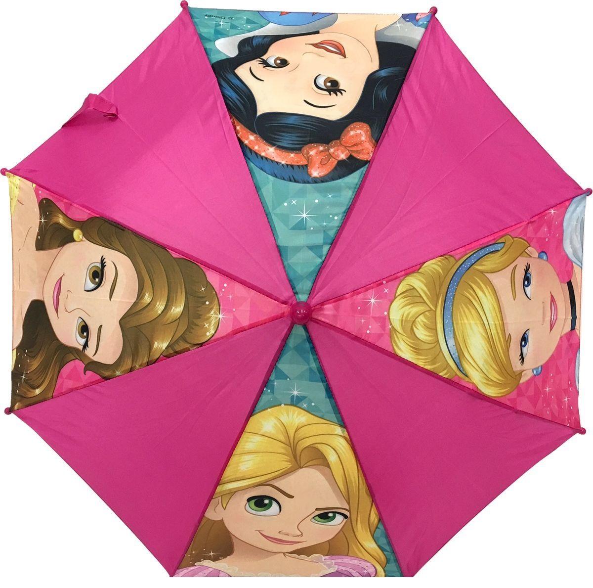 Зонт-трость из серии Disney Princess, 37,5 см.Детские зонты<br>Зонт-трость из серии Disney Princess, 37,5 см.<br>