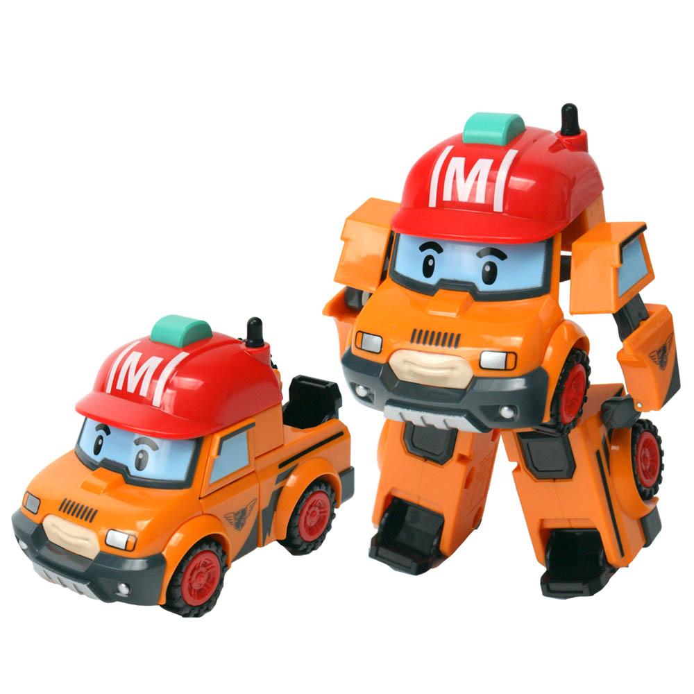 Машинка-трансформер Марк из серии «Робокар Поли», 10 см.Robocar Poli. Робокар Поли и его друзья<br>Машинка-трансформер Марк из серии «Робокар Поли», 10 см.<br>