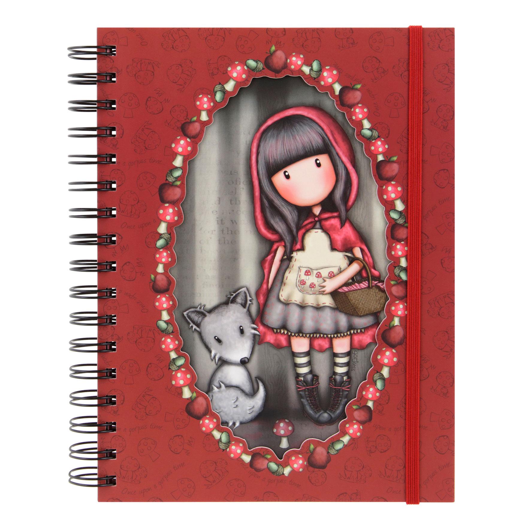Купить Блокнот большой - Little Red Riding Hood, Santoro London